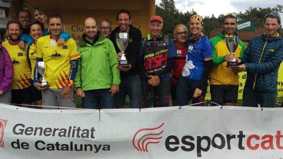 El Club Excursionista Independent, campió de Catalunya per entitats de la Marxa de Resistència de Cap de Rec