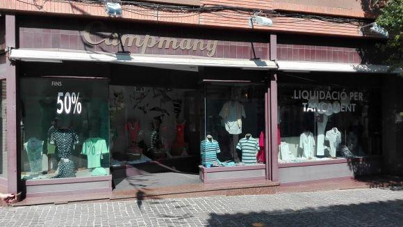 La botiga Campmany tancarà a finals d'any després de quasi 70 anys d'activitat