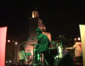 Una jam session, plat fort del Campus Rock d'avui