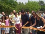 El canó d'espuma i la fideuà, principals activitats del programa