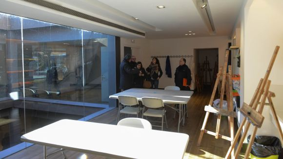 El Centre d'Art Maristany aglutinarà activitats artístiques, tallers i exposicions