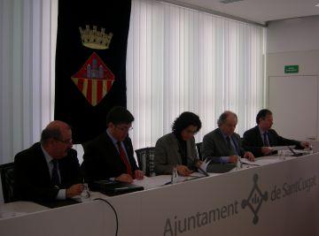 Els sectors públic i privat arriben a un acord per millorar la mobilitat al polígon de Can Sant Joan