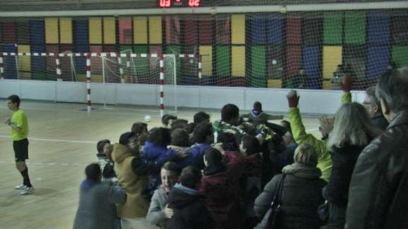 L'Olímpyc guanya cinc jornades després amb un gol a l'últim segon d'Albert Cardona