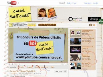 Canal Sant Cugat del portal Youtube