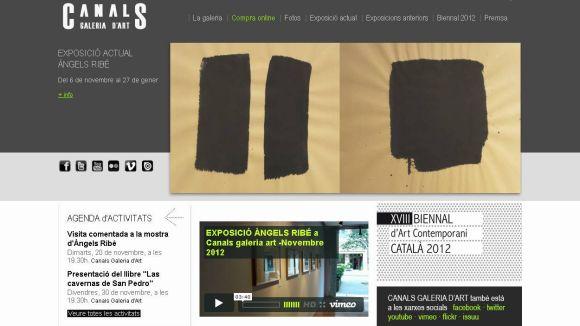 15 anys del llançament de la pàgina web de la Canals Galeria d'Art