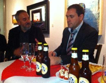 El director del Club Tr3sC explica el projecte de l'entitat a la Canals-Galeria d'Art