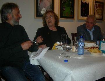 Pessarrodona explica la vida i l'obra de Ferrater a la Canals-Galeria d'Art