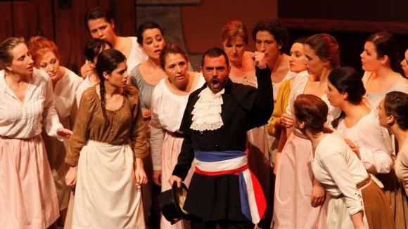 El clam a la llibertat dels pobles, al teatre Victòria amb 'Cançó d'amor i de guerra'