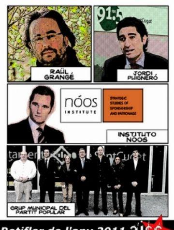 Grangé, Puigneró, el PP i l'Instituto Nóos, candidats a Botifler del 2011