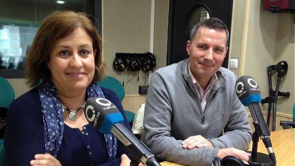 Teresa Ventura i Rafa Garcia han presentat la segona edició de la Cani Cursa al magazín