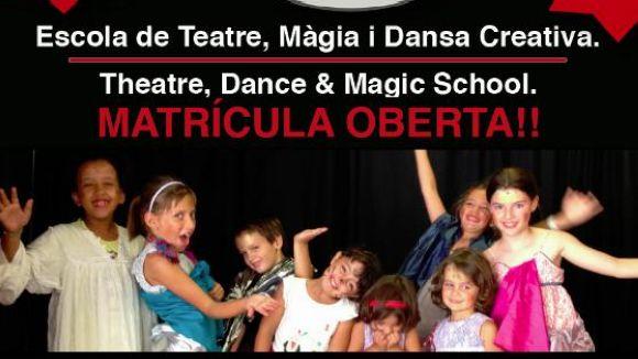 Nous cursos de teatre, màgia i dansa creativa en català i anglès a Can Ninot