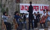 Una de les actuacions d''Un cant per la Pau'