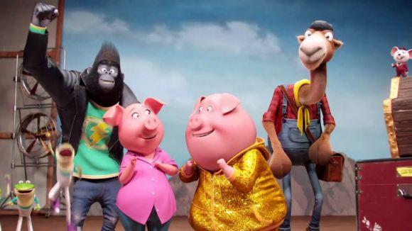 La comèdia musical d'animació '¡Canta!' arriba avui als cinemes de Sant Cugat