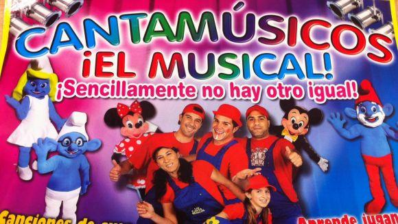 'Cantamúsicos' apropa els personatges animats als més petits a La Unió