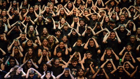2.400 infants del Vallès participen a la Cantània 2017 amb 'La Nit dels Malsons' al Teatre-Auditori
