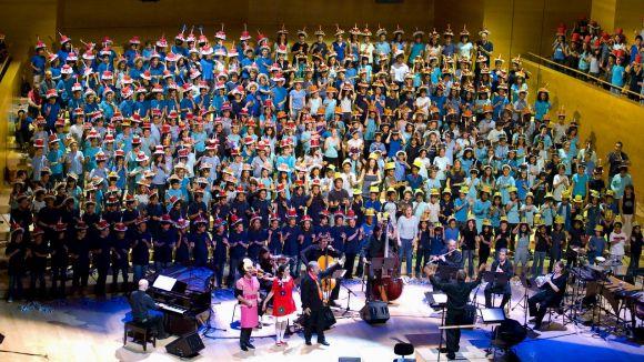 El Teatre-Auditori acull enguany la 'Cantània' amb 35 escoles del Vallès