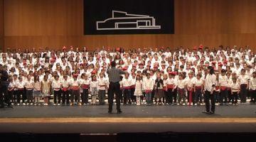 La 9a edició de la Cantata emociona el públic assistent