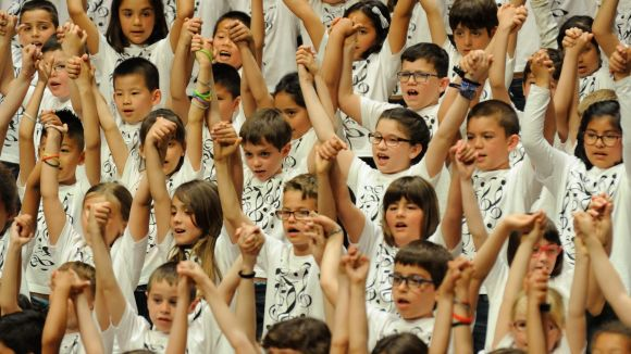 Centenars de veus d'alumnes de primària tornen al Teatre-Auditori amb la Cantata Infantil