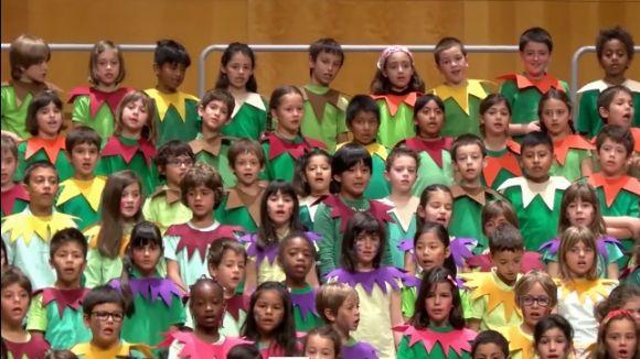 Gaudeix de la Cantata Infantil dels alumnes de primària de Sant Cugat