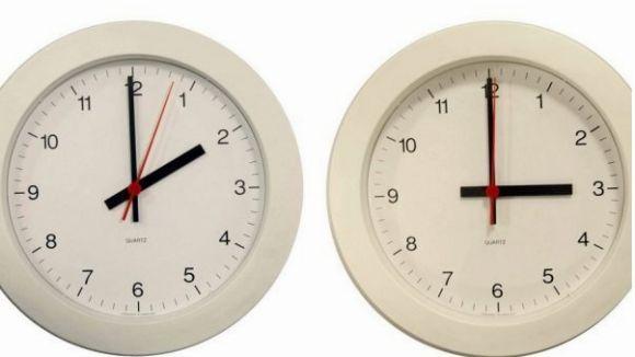 Canvi d'horari aquesta matinada: a les dues caldrà avançar el rellotge a les tres