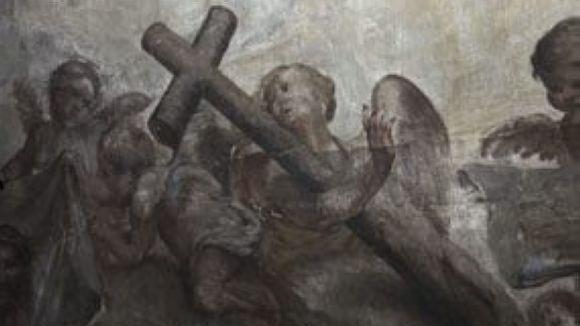 El CRBMC acaba la restauració de les pintures de Capella dels Dolors de la Basílica de Santa Maria de Mataró