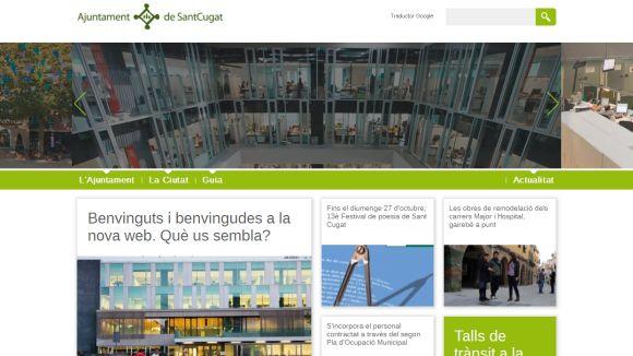 La web de l'Ajuntament es renova per dins i per fora