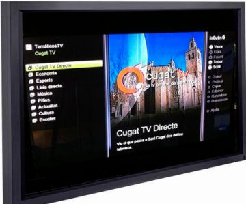 Cugat.cat arriba al televisor de casa i amplia serveis als mòbils