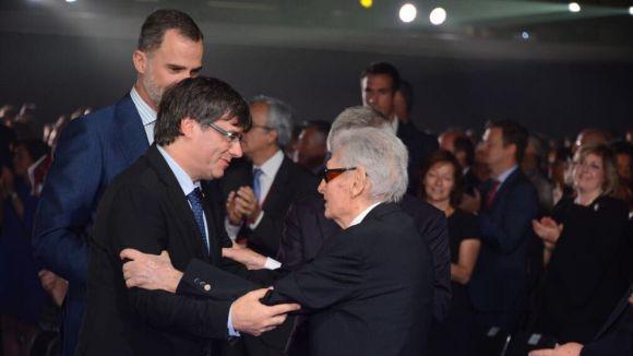Josep Lluís Vilaseca, reconegut per la feina feta al CAR de Sant Cugat / Font: Localpres