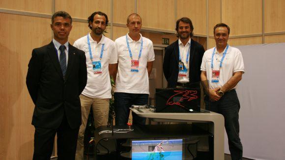 El CAR aposta per la innovació i presenta un dispositiu per analitzar la tècnica a l'aigua