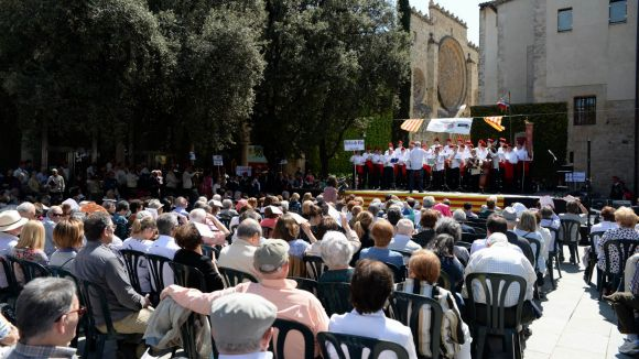 La Trobada de Caramelles omple Sant Cugat de tradició i amb ganes de repetir