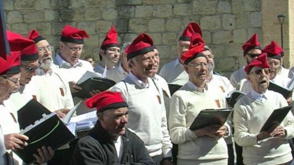 Les caramelles posen banda sonora a la Pasqua