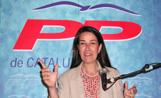La presidenta del Partit Popular de Sant Cugat, Berta Rodríguez