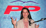 La presidenta local del PP, Berta Rodríguez