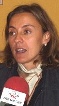 La tinent d'alcalde de Ciutat Sostenible, Mercè Conesa.