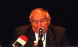 Pataleón de Miguel en l'acte de presentació de la seva candidatura