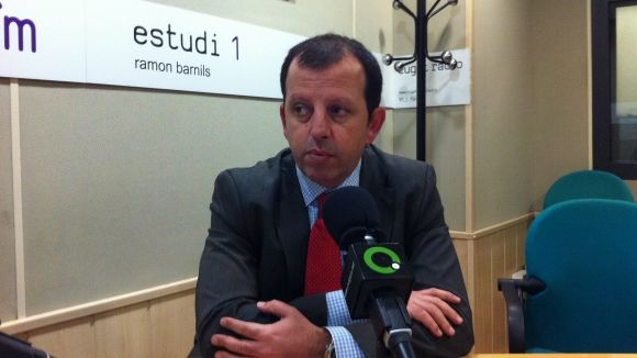 Carles Brugaroles assumeix l'alcaldia en substitució de Conesa