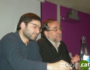 Carles Martín, a l'esquerra, i Xavier Bernal, a la dreta