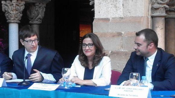 Carles Mundó no es mostra optimista que el ministeri de Justícia doti Sant Cugat de jutjats propis