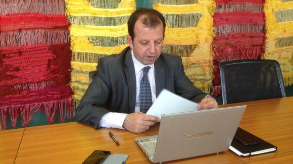 El tinent d'alcalde d'Economia, Carles Brugarolas