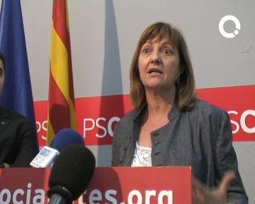 Carme Figueras (PSC) afirma que la prioritat del govern són les mesures anticrisi