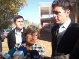 La delegada de la Generalitat a la demarcació de Barcelona ha visitat les obres d'aquest equipament educatiu