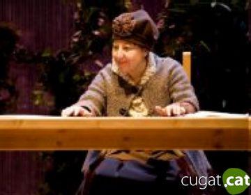 Carmen Machi emociona al Teatre-Auditori amb la seva innocent tortuga
