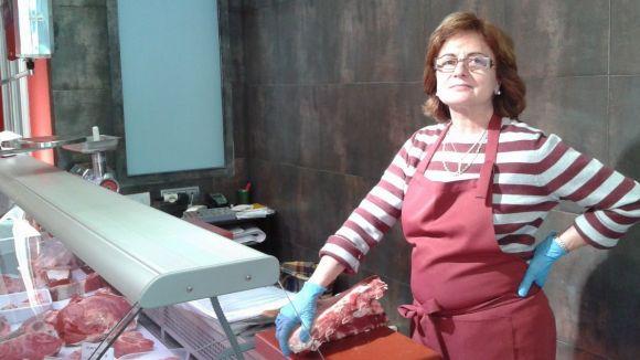 La Carnisseria Lluïsa deixa el Mercat de Pere San pel carrer Plana de l'Hospital