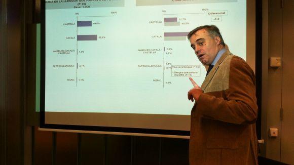 Francesc Carol: 'La immersió lingüística funciona molt bé a la ciutat'