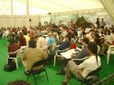 La carpa acollirà activitats lúdiques i culturals.