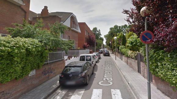 El carrer de Bergara, un dels que milloraran amb les obres / Imatge: Google Maps