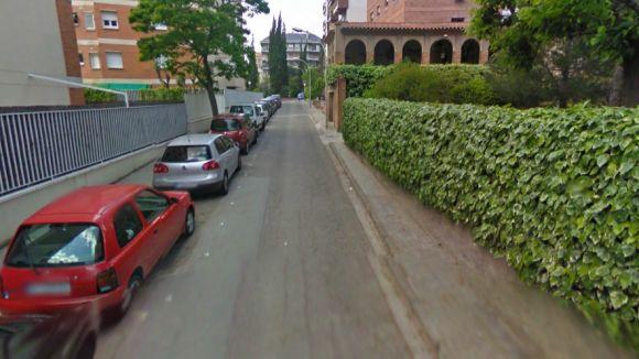 Carrer afectat / Font: Google Maps