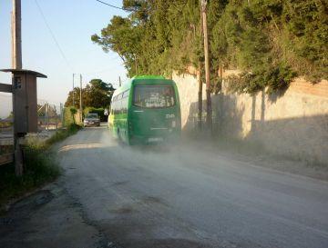 Comença la pavimentació de l'avinguda Pere Planas