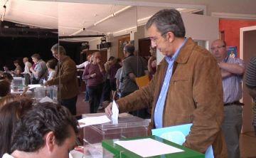 El cap de llista del PP, Jordi Carreras, crida a la participació