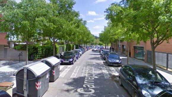 Una imatge del carrer on s'ha produït l'incendi / Foto: Google Maps